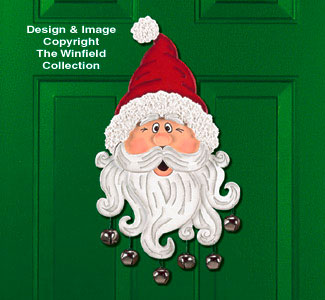 Jingle Cringle Door Decor Project Pattern
