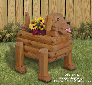 Landscape Timber Dog Planter Plan
