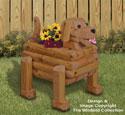 Landscape Timber Dog Planter Plan