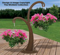 Stylish Hanging Basket Holder Pattern