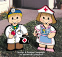 Dress-Up Darlings Doc and Nurse Outfits Pattern