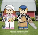 Dress-Up Darlings Woodworker & Painter Outfits Pattern