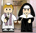 Dress-Up Darlings Priest & Nun Outfits Pattern