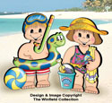 Dress-Up Darlings In The Swim Outfits Pattern