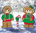 Dress-Up Darlings Gingerbread Outfits Pattern