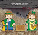 Dress-Up Darlings Fall Farmers Outfits Pattern