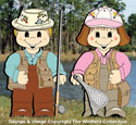 Dress-Up Darlings Fishing Pals Outfits Pattern