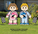 Dress-Up Darlings Race Car Drivers Outfits Pattern