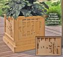 Scenic Planter Box Pattern #1