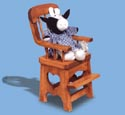 High Chair Woodcraft Pattern