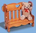 Couple's Bench Woodcraft Pattern