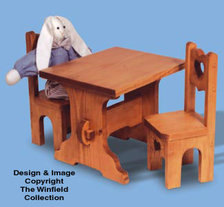 Table & Chairs Woodcraft Patterns