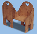Courting Bench Woodcraft Pattern