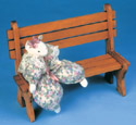 Park Bench Woodcraft Pattern