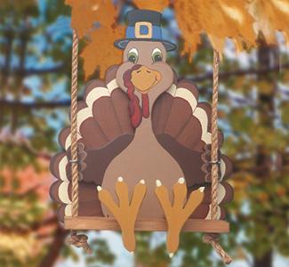 Swingin'Turkey Woodcraft Pattern
