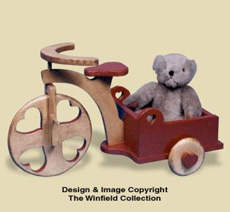Delivery Trike Woodcraft Pattern