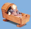 Doll Cradle Woodcraft Pattern