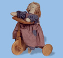 Bear Tricycle Woodcraft Pattern