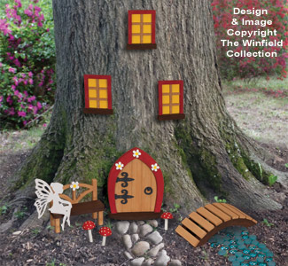 Fairy Garden Pattern Set
