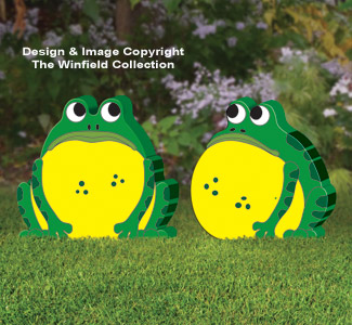 Giant Fat Garden Frogs Pattern