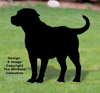 Labrador Retriever Shadow Pattern