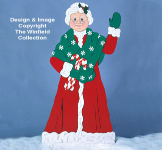 Life-Size Mrs. Claus Woodcraft Pattern