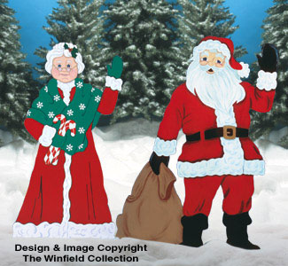 Santa & Mrs. Claus Pattern Combo