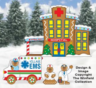 Gingerbread Hospital Pattern
