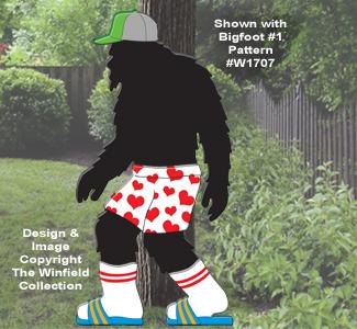 Bigfoot Clothes Set #2