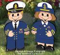 Dress-Up Darlings Coast Guard Outfits Pattern