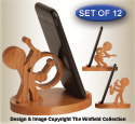 Music Character Cell Phone Holders Pattern Set