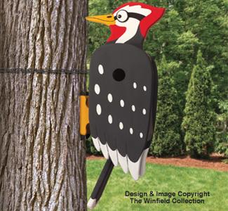 Wacky Woodpecker Birdhouse Pattern