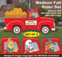 Medium Fall Rider Pattern Set