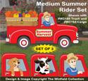 Medium Summer Rider Pattern Set - Downloadable