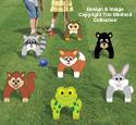 Animal Croquet Pattern Set