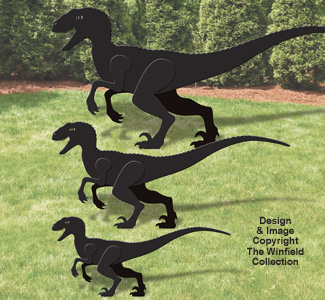 Velociraptor Woodcraft Pattern