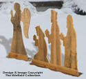 Pallet Wood Angel & Kings Woodcraft Pattern