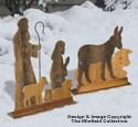 Pallet Wood Shepherds & Animals Woodcraft Pattern