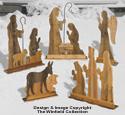 Pallet Wood Nativity Set Woodcraft Patterns