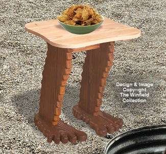 Bigfoot Side Table Plan