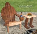 Bigfoot Adirondack Chair & Side Table Plans