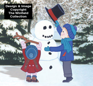 Snowday Woodcrafting Pattern
