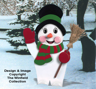 Yard Frosty Woodcraft Pattern