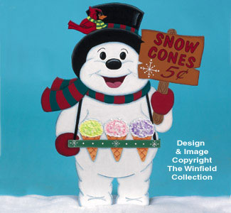 Snow Cone Sales Woodcraft Pattern
