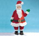 Chubby Santa Woodcraft Pattern