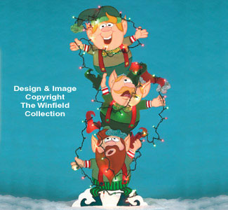 Tangled Elves  Woodcraft Pattern