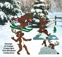 Reindeer Games Woodcraft Pattern