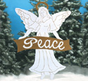 Angel Of Peace Woodcraft Pattern