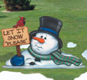 Let It Snow Please!!    Woodcraft Pattern