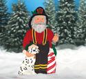 Fireman Santa Woodcraft Pattern